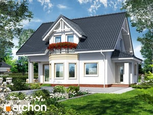 Проект дома ARCHON+ Дом в журавине 3