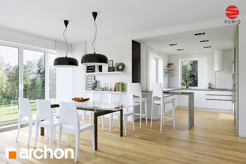 Проект дома ARCHON+ Дом в чернушке (Г) - Интерьеры