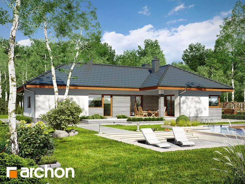 Проект дома ARCHON+ Дом в грушках (Г) - Визуализация 2