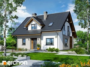 Проект дома ARCHON+ Дом в хлорофитуме 5