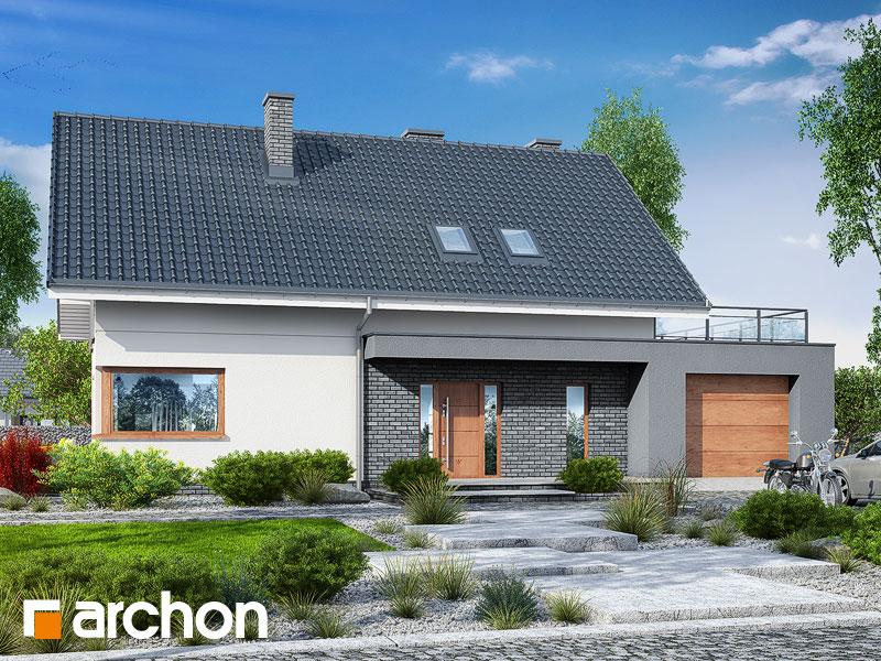Проект дома ARCHON+ Дом в гранадиллах - Визуализация 2
