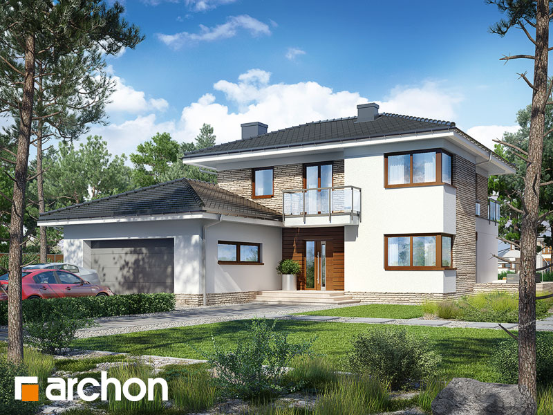 Проект дома ARCHON+ Вилла Эмилия - Визуализация 1