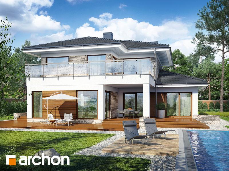 Проект дома ARCHON+ Вилла Эмилия - Визуализация 2