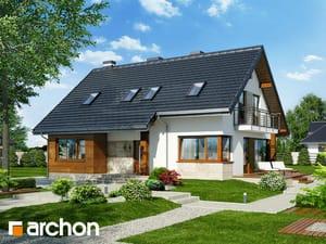 Проект дома ARCHON+ Дом в айдаредах 3 ver.2