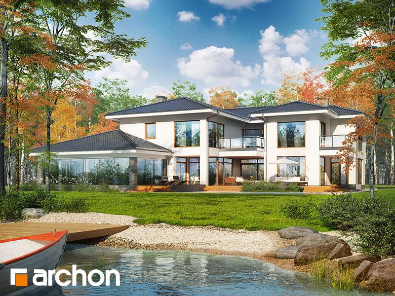 Проект дома ARCHON+ Вилла Эрика - Визуализация 1
