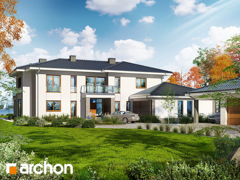 Проект дома ARCHON+ Вилла Эрика - Визуализация 2