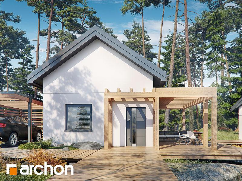 Проект дома ARCHON+ Летний домик в крокусах 4 (А) - Визуализация 2