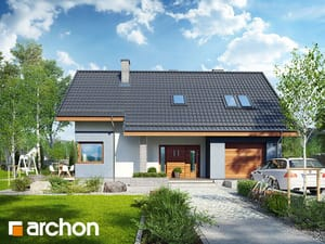 Проект дома ARCHON+ Дом в журавках 5