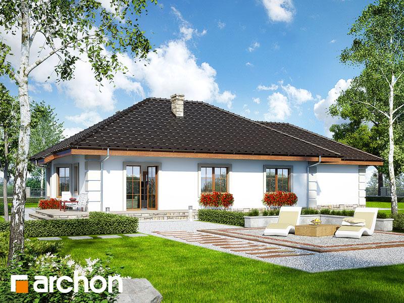 Проект дома ARCHON+ Дом под красной рябиной (Г2) - Визуализация 2