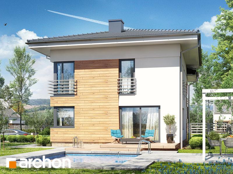 Проект дома ARCHON+ Дом в мирте 5 - Визуализация 2