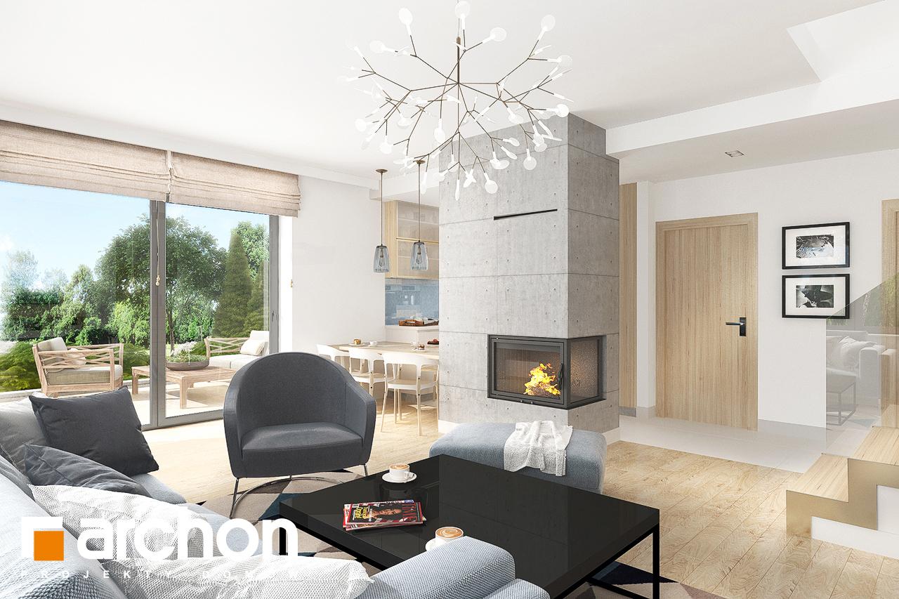Проект дома ARCHON+ Дом в мирте 5 - Интерьеры
