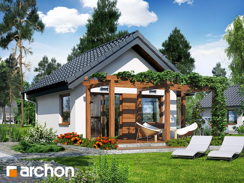 Проект дома ARCHON+ Летний домик в крокусах 2 - Визуализация 2