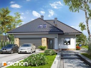 Проект дома ARCHON+ Дом в тавулах (Г2)