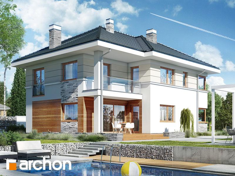 Проект дома ARCHON+ Вилла Сесилия - Визуализация 2