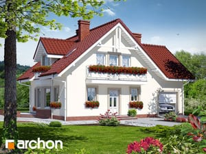 Проект дома ARCHON+ Дом в рододендронах 2 TERMO