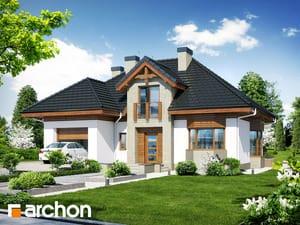 Проект дома ARCHON+ Дом в каллатеях 5 Termo