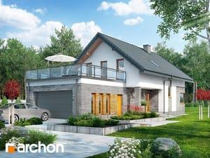 Проект дома ARCHON+ Дом в лауренциях (Г2)