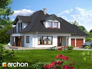 Проект дома ARCHON+ Дом в чернушке (Г2) версия TERMO