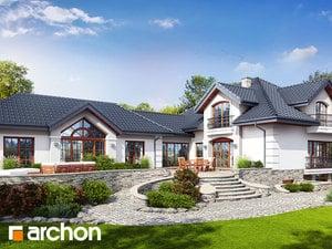 Проект дома ARCHON+ Резиденция в персимонах 3