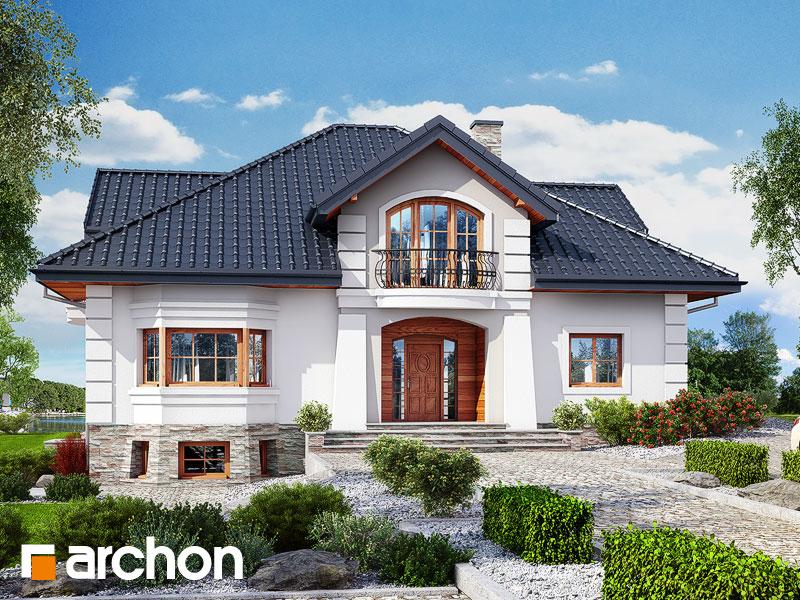 Проект дома ARCHON+ Резиденция в персимонах 3 - Визуализация 2