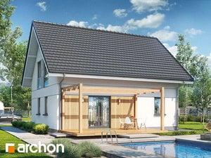 Проект дома ARCHON+ Дом в хлорофитуме ver.2