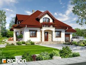Проект дома ARCHON+ Дом в чубушнике