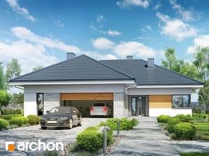 Проект дома ARCHON+ Дом в бирюзе (Г2)