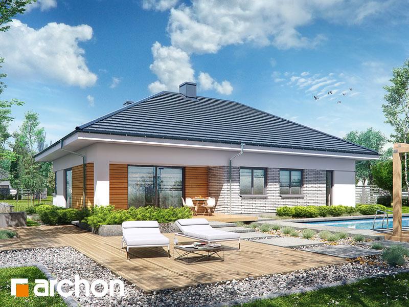 Дом в бирюзе (Г2) - Визуализация 2