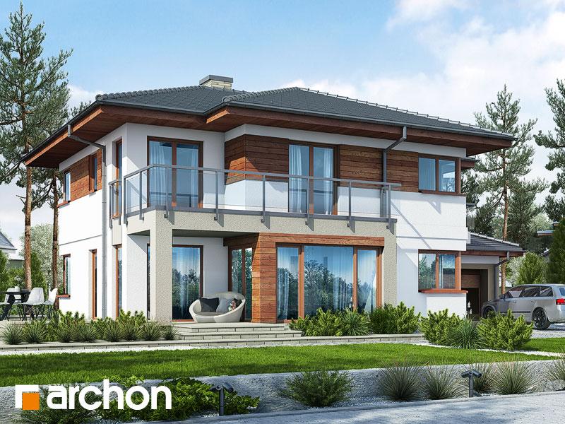 Проект дома ARCHON+ Вилла Элиза 3 - Визуализация 1