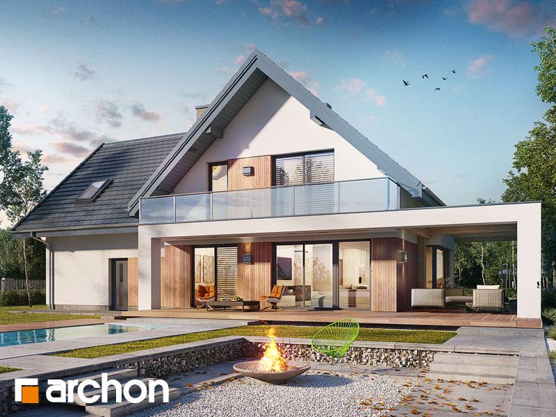 Проект дома ARCHON+ Дом в аморфах 2 (Г2А) - Визуализация 1