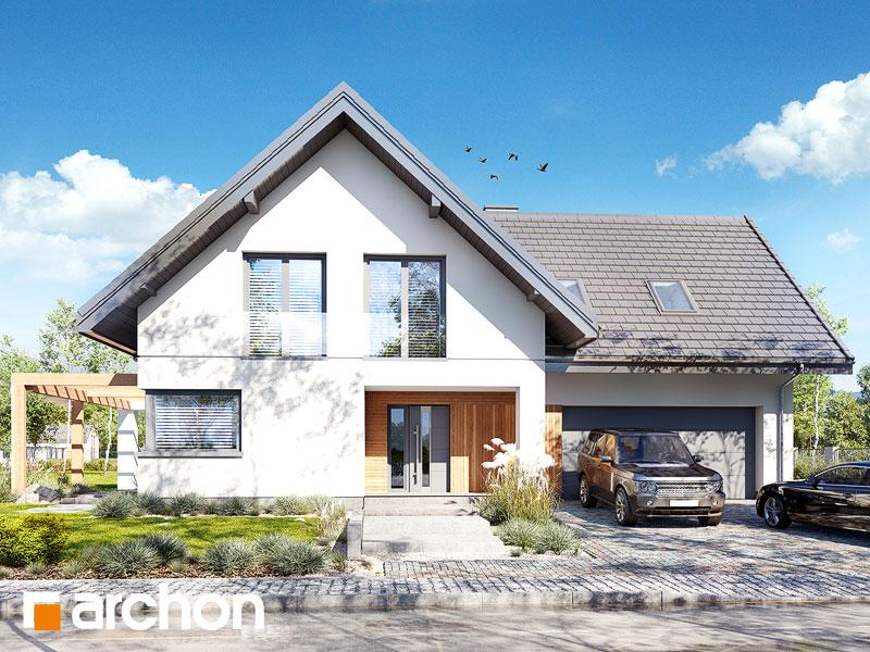 Проект дома ARCHON+ Дом в аморфах 2 (Г2А) - Визуализация 2