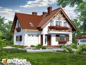 Проект дома ARCHON+ Дом в скальниках ver.2