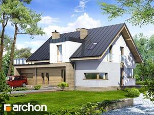 Проект дома ARCHON+ Дом в клубнике 2 (Н)