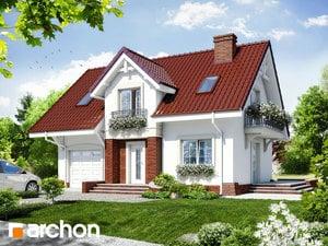 Проект дома ARCHON+ Дом в портулаках ver.3