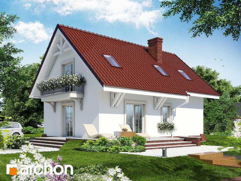 Проект дома ARCHON+ Дом в портулаках ver.3 - Визуализация 2