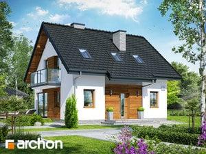 Проект дома ARCHON+ Дом в бруснике 4