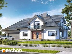 Проект дома ARCHON+ Дом в тополях (Г2)