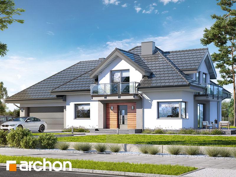 Проект дома ARCHON+ Дом в тополях (Г2) - Визуализация 1