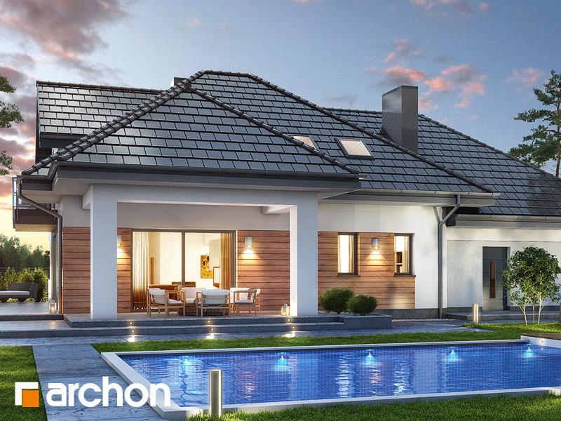 Проект дома ARCHON+ Дом в тополях (Г2) - Визуализация 2