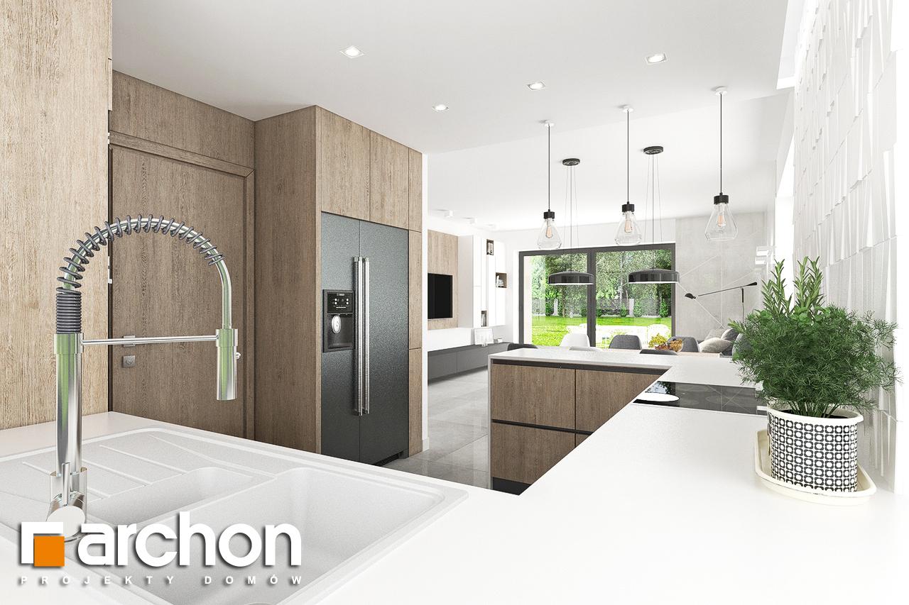 Проект дома ARCHON+ Дом в тополях (Г2) - Интерьеры