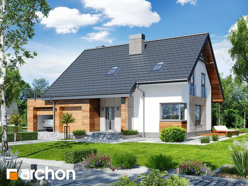 Проект дома ARCHON+ Дом в яблонках 8 (Г2) - Визуализация 1