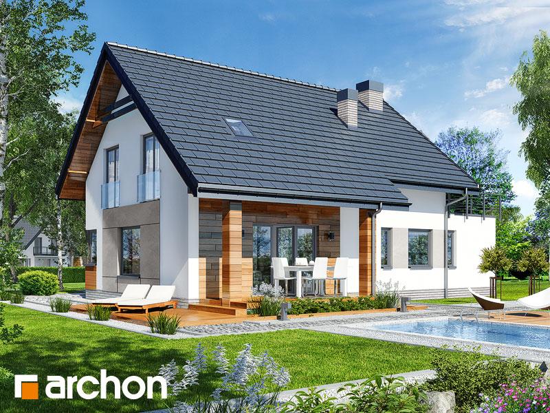 Проект дома ARCHON+ Дом в яблонках 8 (Г2) - Визуализация 2