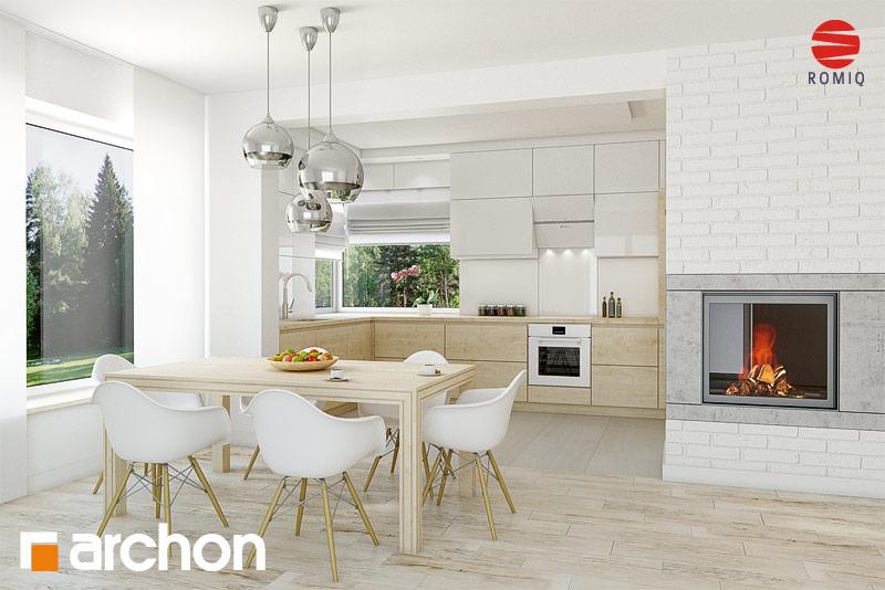 Проект дома ARCHON+ Дом в яблонках 8 (Г2) - Интерьеры