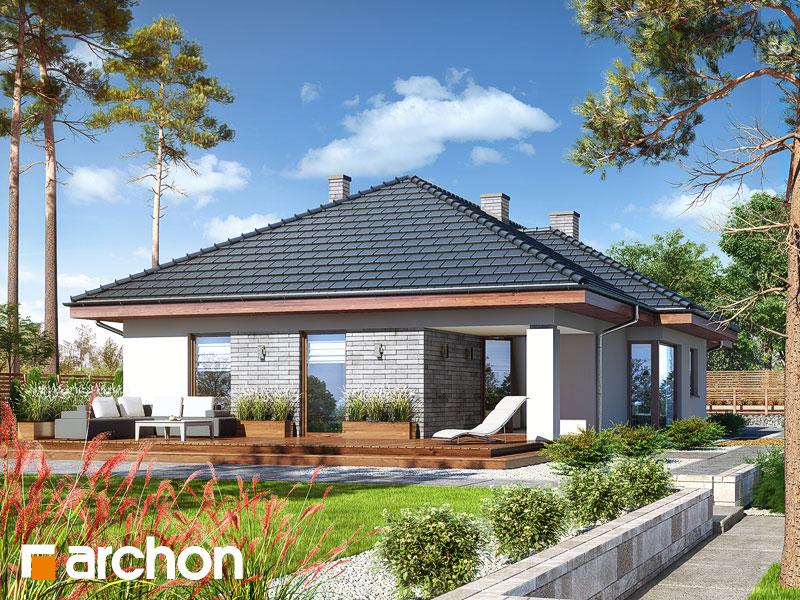 Проект дома ARCHON+ Дом в андромедах (Г2) - Визуализация 2