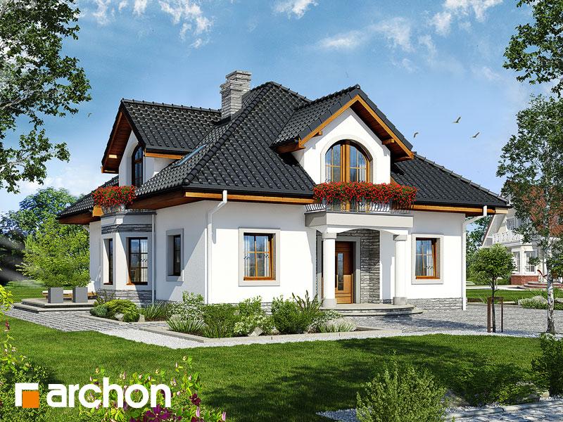 Проект дома ARCHON+ Дом в тимьяне 9 - Визуализация 1