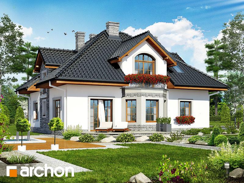 Проект дома ARCHON+ Дом в тимьяне 9 - Визуализация 2