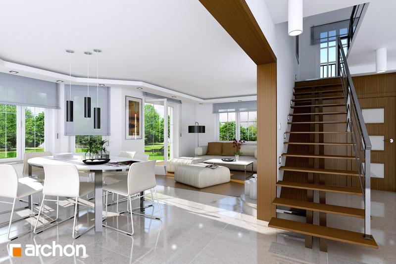Проект дома ARCHON+ Дом в тимьяне 9 - Интерьеры