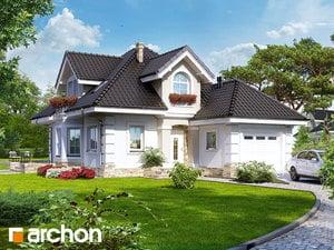 Проект дома ARCHON+ Дом в рукколе ver.2