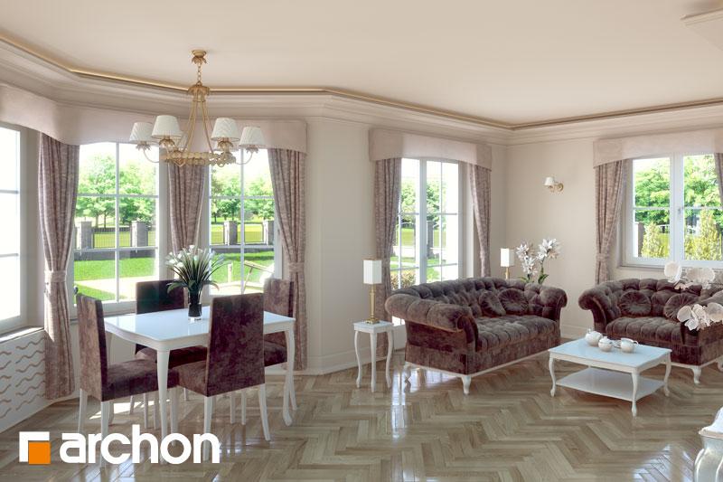 Проект дома ARCHON+ Дом в рукколе ver.2 - Интерьеры
