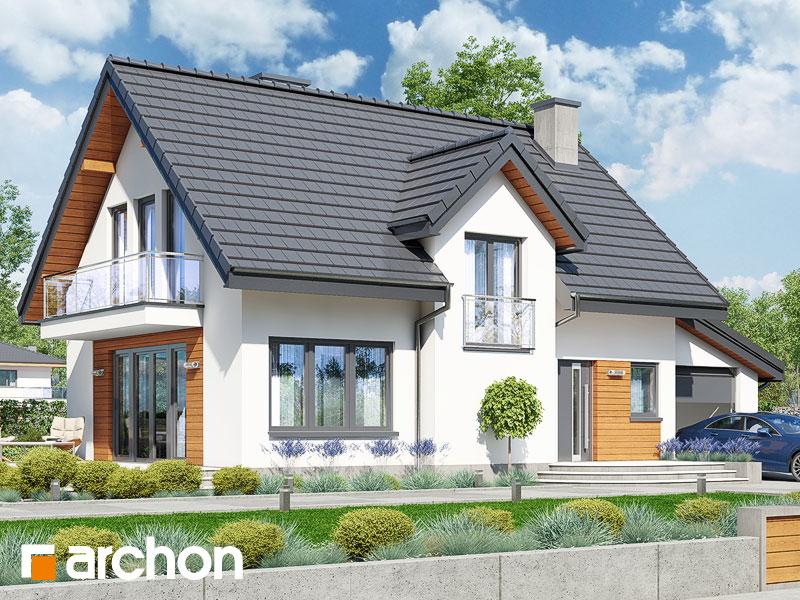 Проект дома ARCHON+ Дом в солодках (Г) ver.2 - Визуализация 1